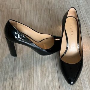 M. Gemi Block Pumps Heels black patent leather 38